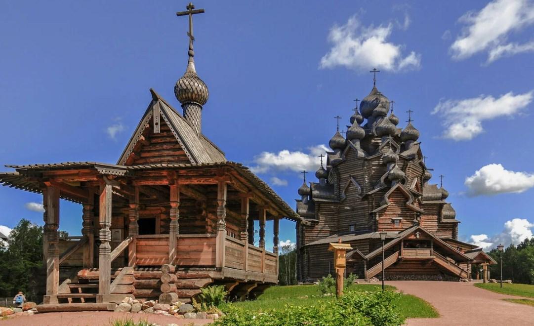 Рестоврация деревянной церкви
