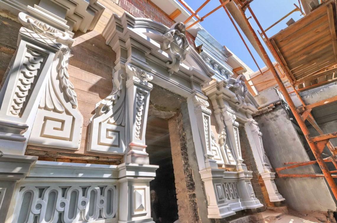 Реставрация архитектурно-лепного декора