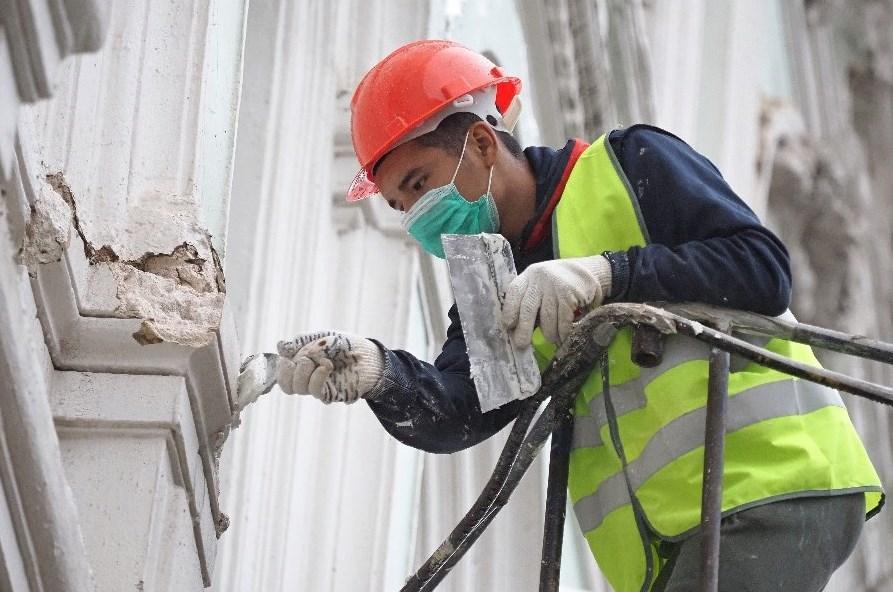 Этапы восстановления штукатурного покрытия