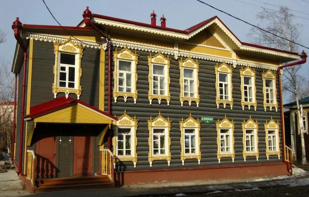 Реставрация старинных деревянных фасадов