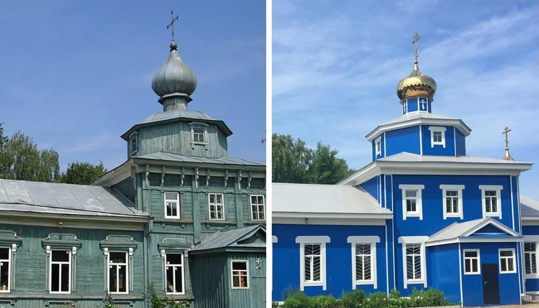 Реставрация храмов и церквей