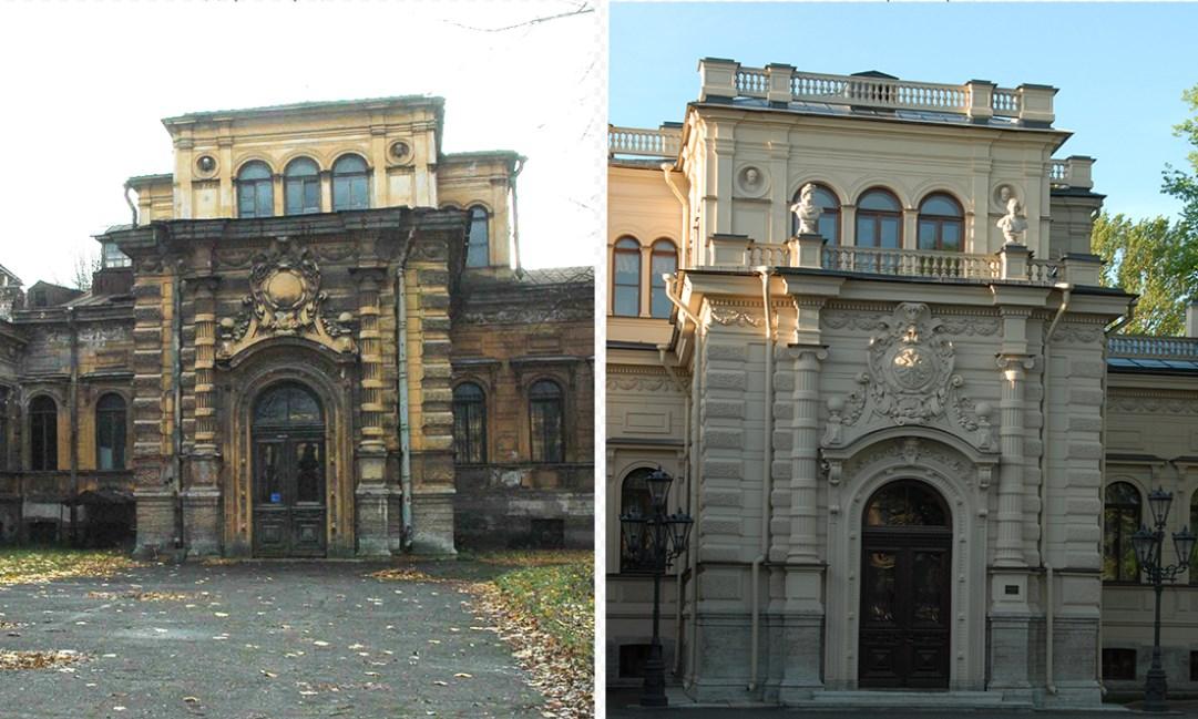 Реставрация фасадов памятников