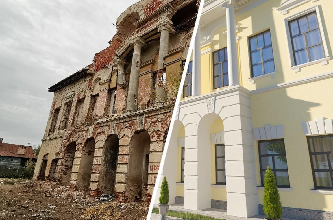Реставрация фасадов домов