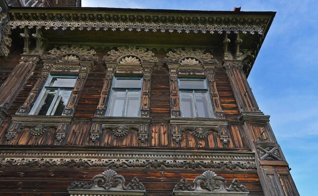 Реставрация деревянных фасадов