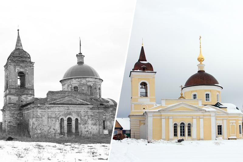 Восстановление аутентичного облика церквей и храмов